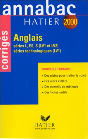 Annabac corrigés 2000 - anglais