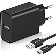 Rophie Quick Charge 3.0 18W USB Type C Cargador Carga rápida 3.0 para LG G5, HTC M10, HTC One A9 , LeTVLe MAX Pro , Galaxy S7 / S7 Edge,Galaxy Note 5 y mas