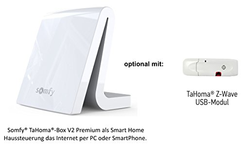 Price comparison product image Smart Home Starter Pack: Somfy® Tahoma Premium Box.