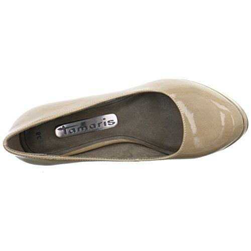 Tamaris1-1-22435-27-253 - Scarpe peep toe Donna Beige