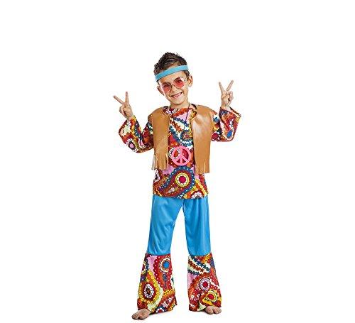 Disfraz Hippie Chaleco TALLA 7-9