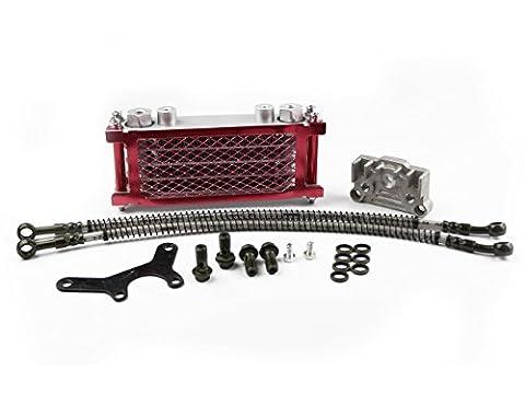 Öl Kühler Heizkörper für CRF50XR50Chinesische Made Pit Dirt Bike ATV Motorrad Quad 125140cc Tao Tao bosuer Kayo Apollo