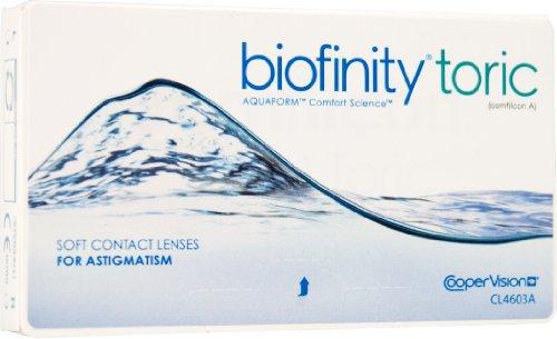 Biofinity Biofinity weiche Monatslinsen online bestellen, Tag-Nacht-Kontaktlinsen Monatslinsen, 6 Stück / BC: 8.6 mm / DIA: 14.0 / -12,00 Dioptrien