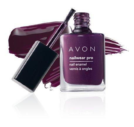 Avon Nailwear Pro Nail enamel-midnight Pflaume -