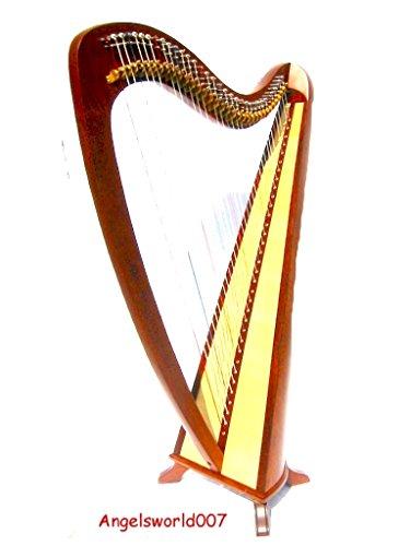 34 Saitige Roundback Harfe Incl Softcase und Ersatzsaiten NEU
