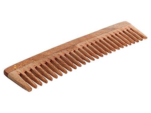 By Nature Neem Wooden Regular Comb