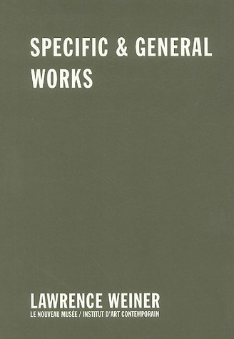 Specific & General Works