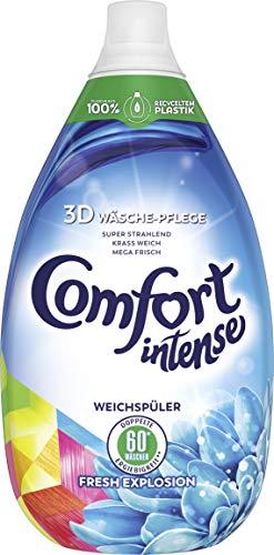 Comfort Intense Weichspüler Fresh Explosion 60 Wäschen, 3er Pack (3 x 0,9 l)