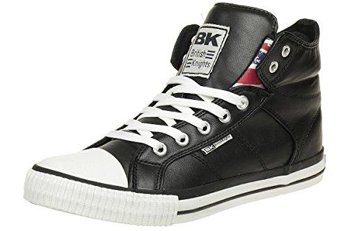 British Knights Roco, Sneaker Alte Uomo Nero
