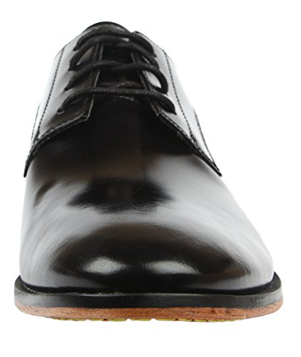 Clarks Gatley Walk, Chaussures de ville homme Noir (Black Leather)