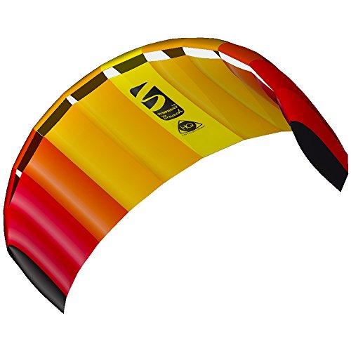 Invento 11768252 - Symphony Beach R2F III 1.8 Mango, Zweileiner Lenkmatten, Ab 12 Jahren, 60 x 180 cm Ripstop-Nylon 2-6 Beaufort