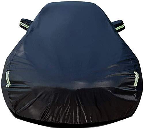 Autoabdeckung Kompatibel mit DS3 All Day Wasser- und Winddicht Staubdichtes Outdoor Indoor UV-Schutz Auto Persenning volle Auto-Abdeckung (Color : Black Built-in lint)