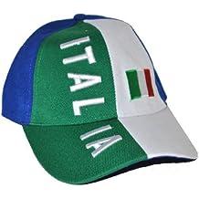 Karabu Cappello Italia modello baseball tricolore bandiera cappellino 90d96e204416
