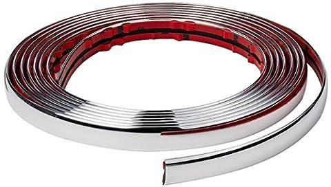Baguette Chrome - ewinever(TM) 5m Chrome Moulding Garniture bande de