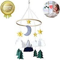 Small Foot Forest Animal Mobile,Felt Ball Mobile,Infant Crib Musical Mobile,Baby Cot Mobile,Baby Wind Chimes