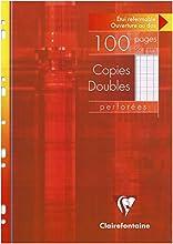 Copies Doubles Perforees S/Etui 21x29,7 100p Seyes