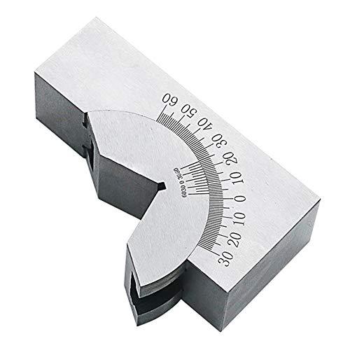 Nrpfell Calibre Seno Calibre ángulo Ajustable Almohadilla