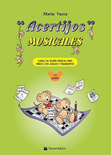 ACERTIJOS MUSICALES: 1 (RM Pedag Lenguaje musical)