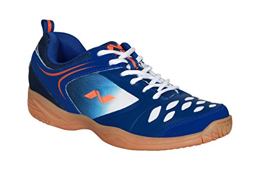 Nivia HY-Court Badminton Shoes (Blue, UK 06)