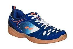 Nivia HY-Court Badminton Shoes (Blue, UK 11)