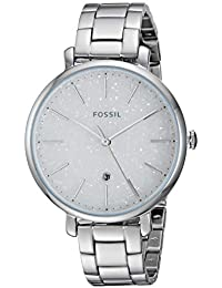 fda70f86a1a2 Amazon.es  Reloj Fossil Mujer Plateado - Incluir no disponibles ...