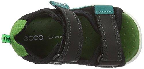 Ecco Lite 753, Chaussures Marche Bébé Garçon Vert (52562Black/Black/Meadow)