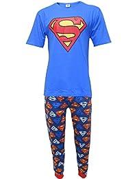spedizione gratuita 21276 2c64c Amazon.it: pigiama superman - Uomo: Abbigliamento