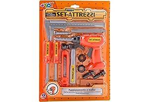 GLOBO, Tools Set W/Drill Juguetes (1)
