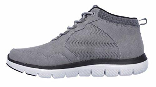 Skechers Flex Advantage 2.0, Basses homme Gris (Charcoal)