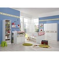 Preisvergleich für Babyzimmer Kimba komplett Sets verschiedene Ausführungen (Babyzimmer Kimba 3tlg. mit 3trg. Schrank)