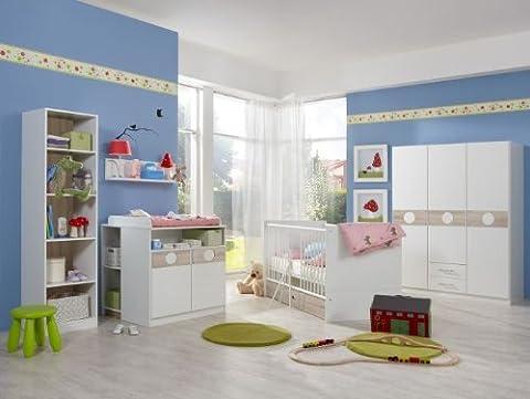 Babyzimmer Kimba komplett Sets verschiedene Ausführungen (Babyzimmer Kimba 6tlg. mit