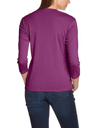 Eddie Bauer Damen T-Shirt 0099515 Violett (beere mel)