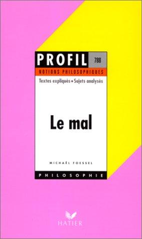 Le Mal - notions philosophiques