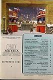 musica disques no 6 du 01 09 1954 classique et jazz varietes et danse l enigme strawinsky la chanson francaise au moyen age la vie musicale aux u s a le piano en france les violons du roi j s bach n obouhow pizzicati le saxophon
