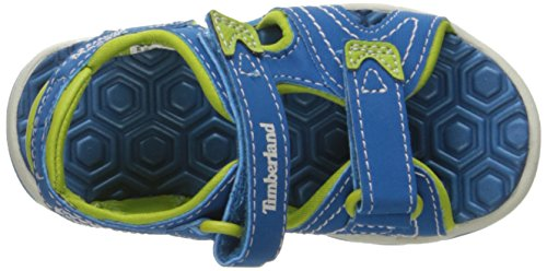 Timberland Unisex-Kinder Adventure Seeker 2 Strapmykonos Sandalen, Blau (Mykonos Blue), 35 EU -