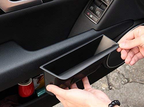 Titulaire de la boîte de Rangement de la boîte de Rangement de la Porte de Rangement de la Porte de Voiture en Plastique Avant intérieur Noir pour la Classe C W204 2008-2013
