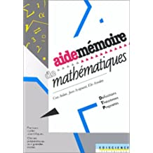 Aide-mémoire de mathématiques