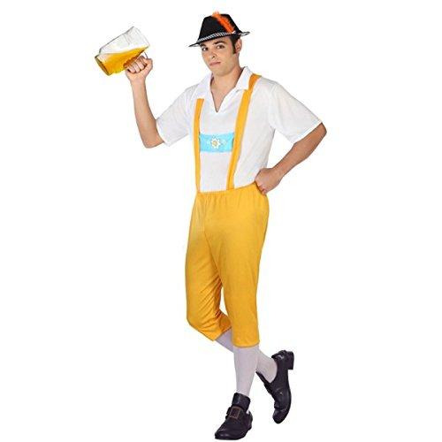Imagen de mela proibita  traje alemán hombre disfraz oktoberfest bávaro cerveza carnaval cosplay  multicolor, ml