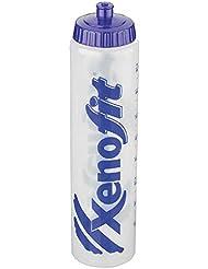 Xenofit 2322903400-Trinkflasche Trinkflasche, Transparent, 10 x 10 x 25cm
