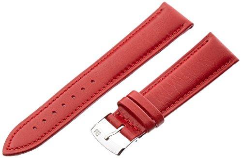 Morellato cinturino in pelle unisex Musa rosso 18 mm A01X3935A69083CR18