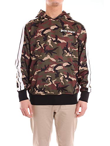 Palm Angels PMBD05F18388005 Sweatshirt Harren Tarnung S Palm Pullover