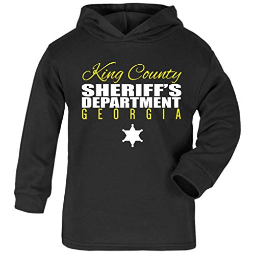 Dead Walking Kleinkind Kostüm Für - King County Sheriff Department The Walking Dead Baby and Kids Hooded Sweatshirt