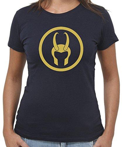 T-Shirt ELMO DI LOKI - by New Indastria Blu notte