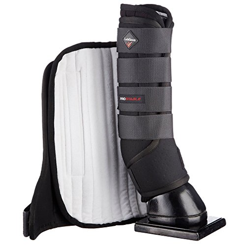 LeMieux Pro Stable Pferdeschuhe, schwarz, M