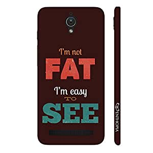 Enthopia Designer Hardshell Case Fat is easy to See Back Cover for Asus Zenfone C