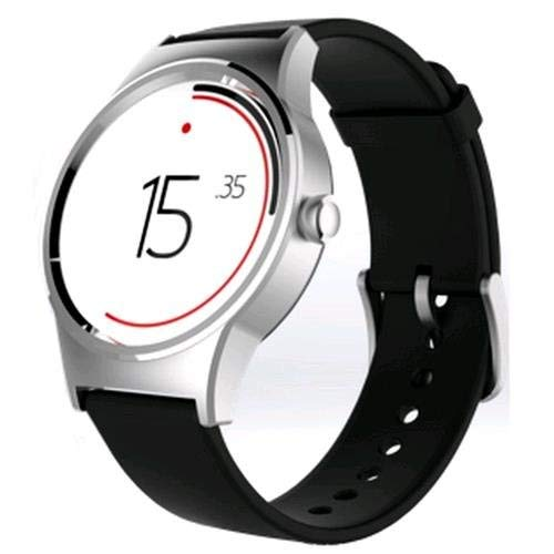 ALCATEL Move Time Watch - Silver/Black