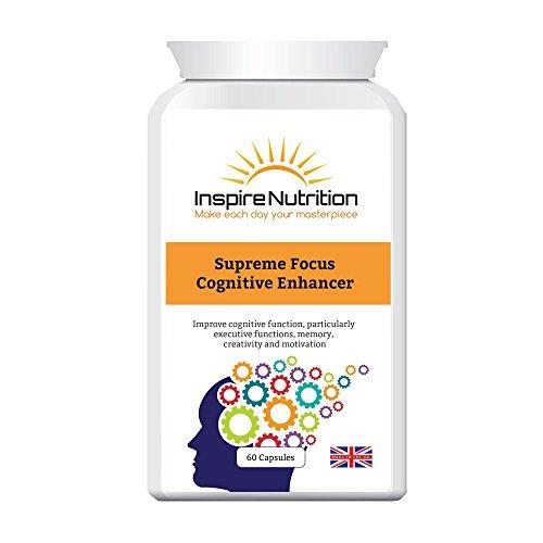 Supremo enfoque cognitivo Enhancer - Smart drogas, Brain Boost, motivación, foco Mental,...