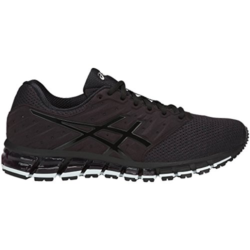 ASICS Men's Gel-Quantum 180 2 MX Phantom/Black/White Running Shoes - 11 UK/India (46.5 EU)(12 US)(T837N.1690)