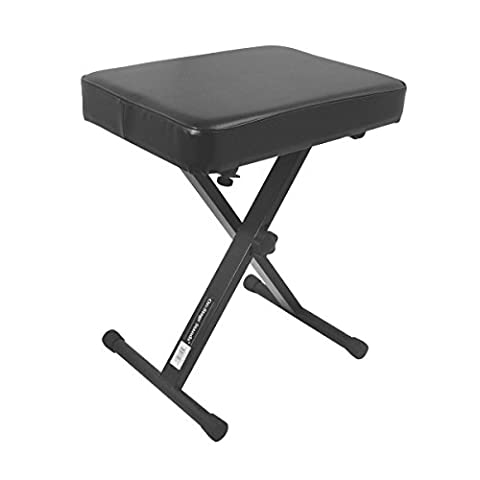 On Stage Stands 3-Position X-Style Keyboard
