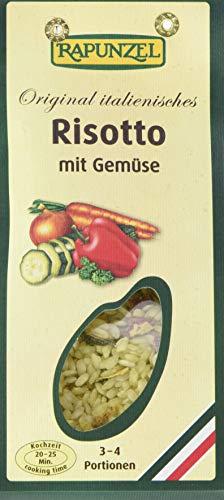 Rapunzel Risotto mit Gemüse, 4er Pack (4 x 250 g) - Bio